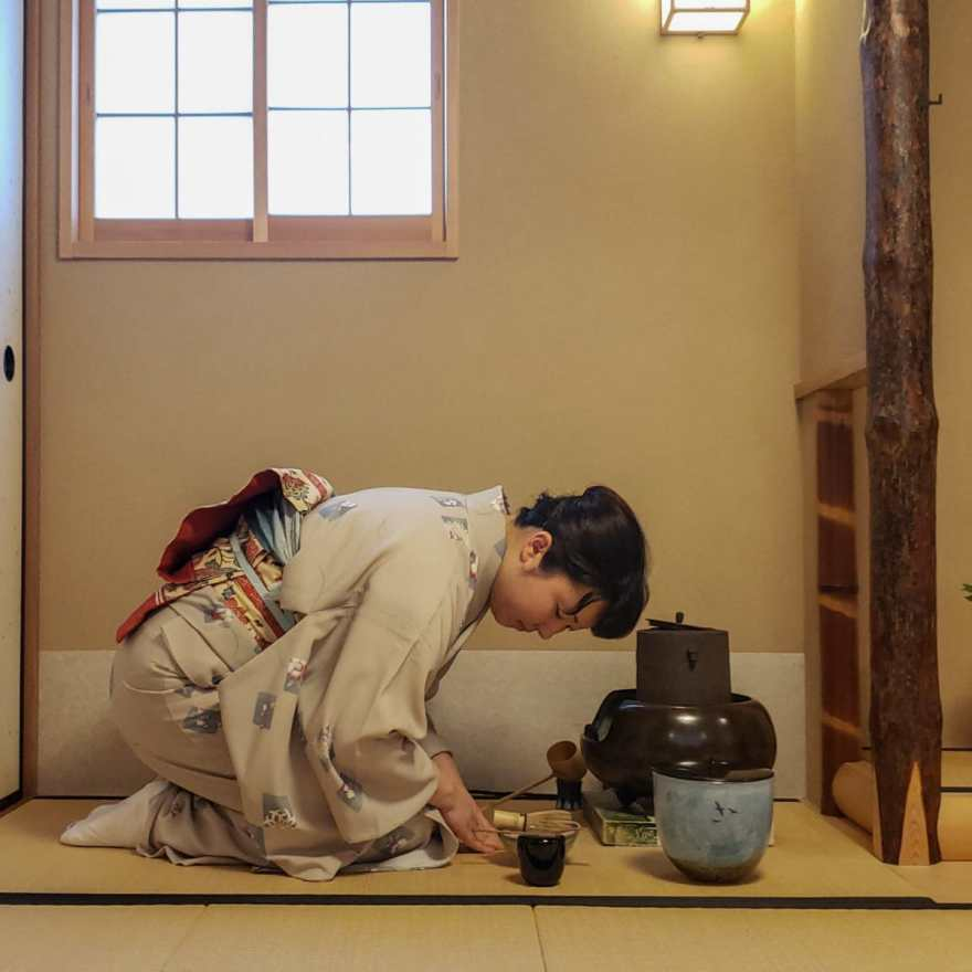 places to visit in tokyo tea ceremony