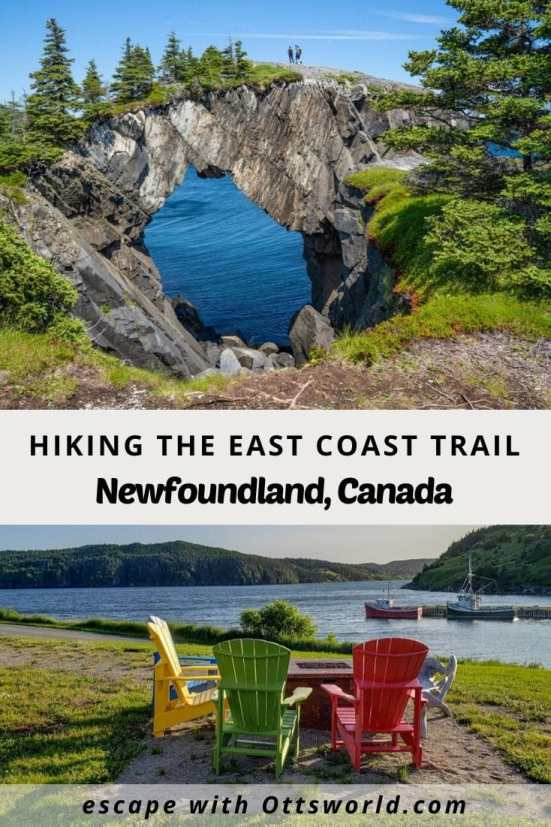 Hiking the East Coast Trail Newfoundland Canada