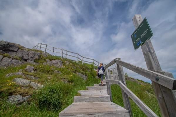 east coast trail hike newfoundland