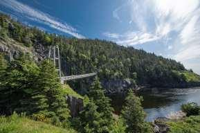 Suspension Bridge Flamber head hike