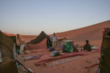 Erg Chigaga desert camp morocco