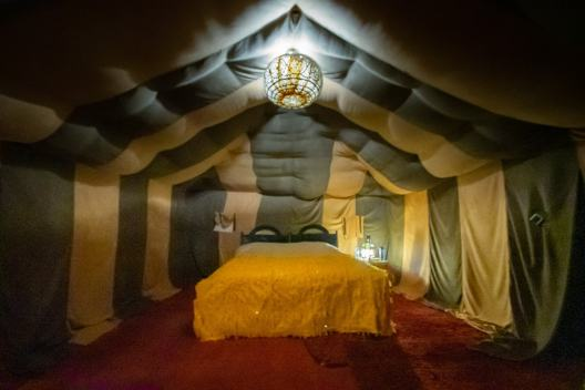 luxury tent sahara desert