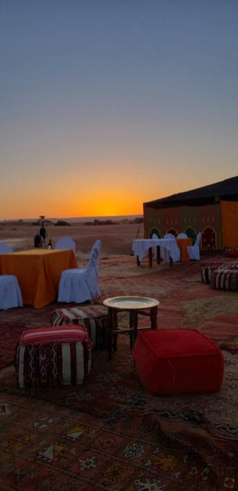 desert camp sahara