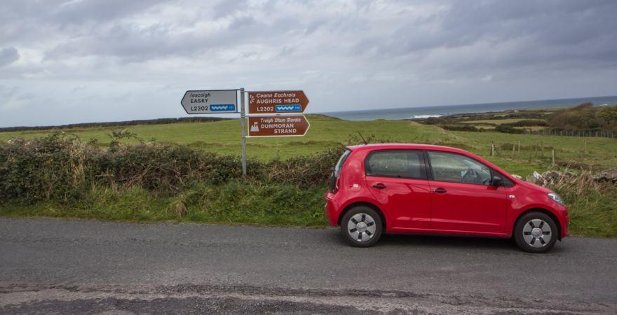 wilding atlantic way signs