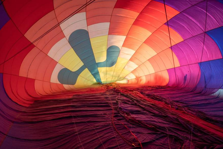 hot air balloon sonoran desert