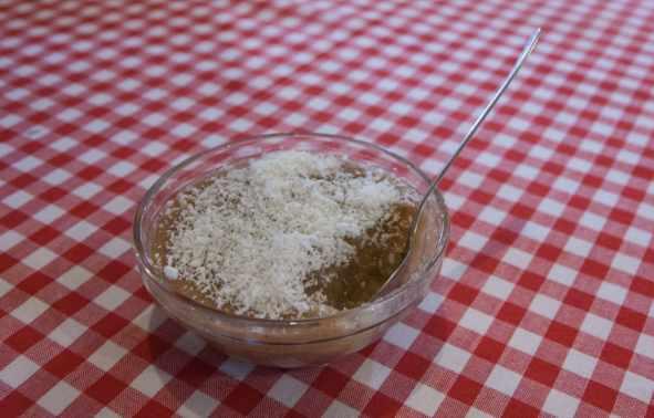 Meghli sweet lebanese dessert