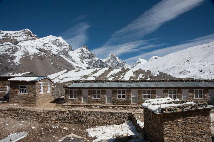 annapurna high camp teahouse