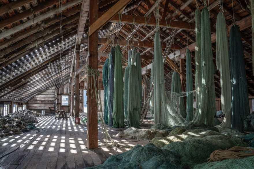 fishing nets tallheo bella coola
