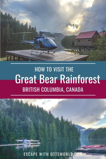 great bear rainforest british columbia canada
