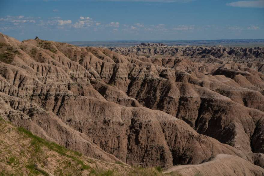badlands western south dakota