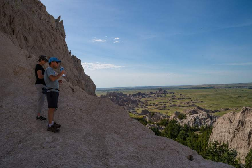 notch trail badlands