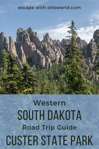 rocky peaks custer state park south dakota usa