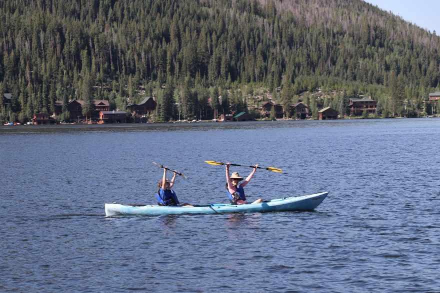 grand lake kayaking