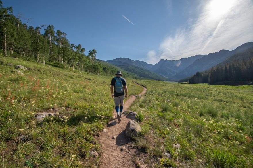 Upper piney lake trail