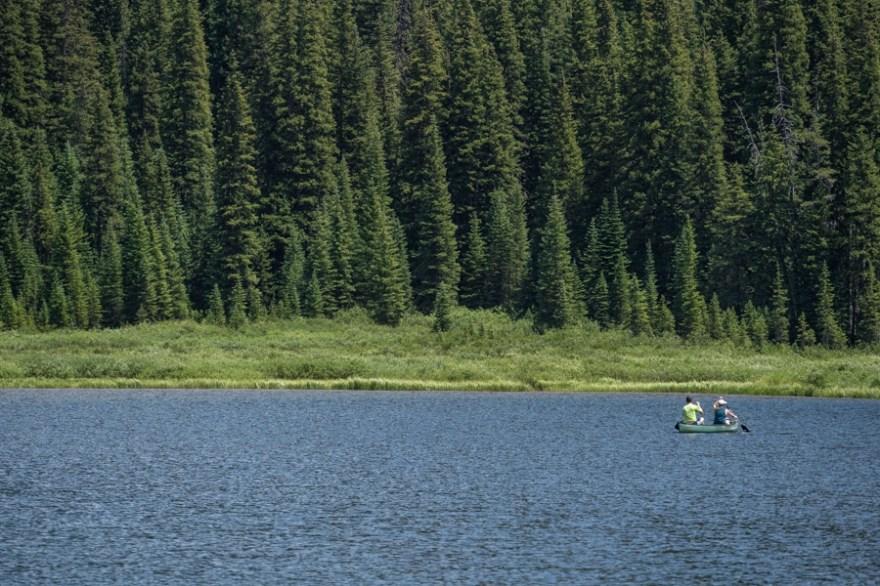 canoe piney lake