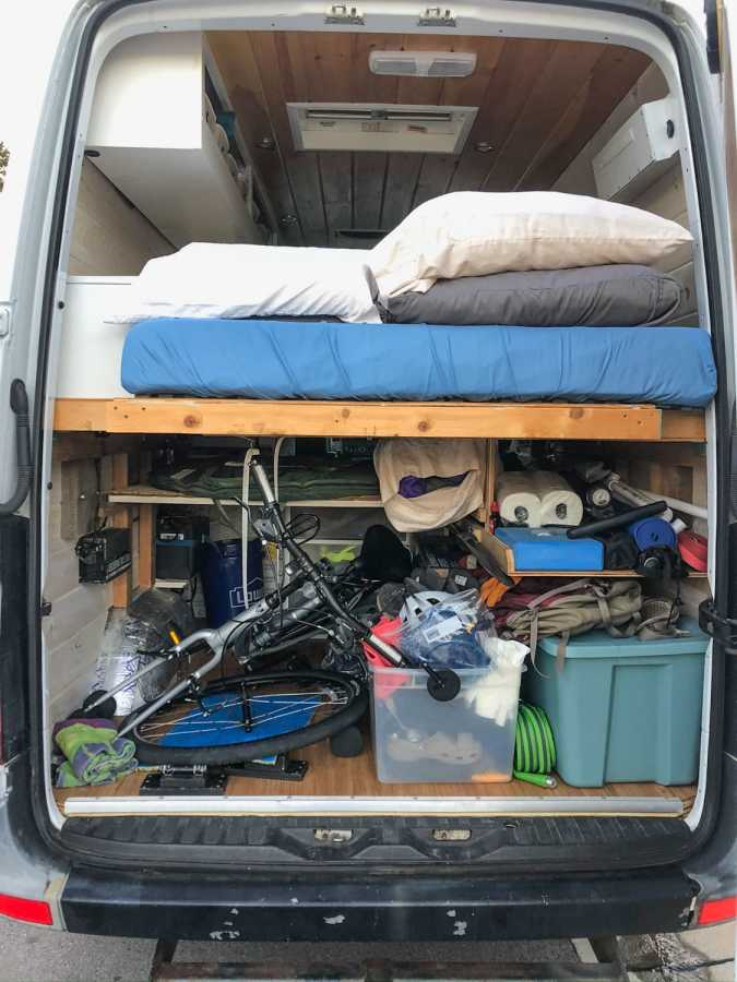 campervan storage