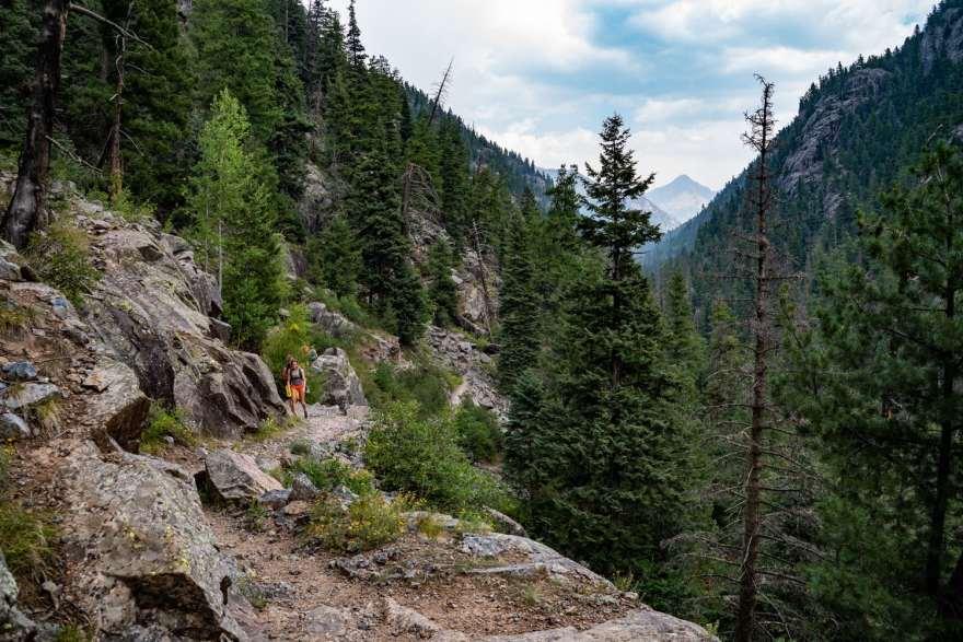 vallecito creek hiking trail colorado