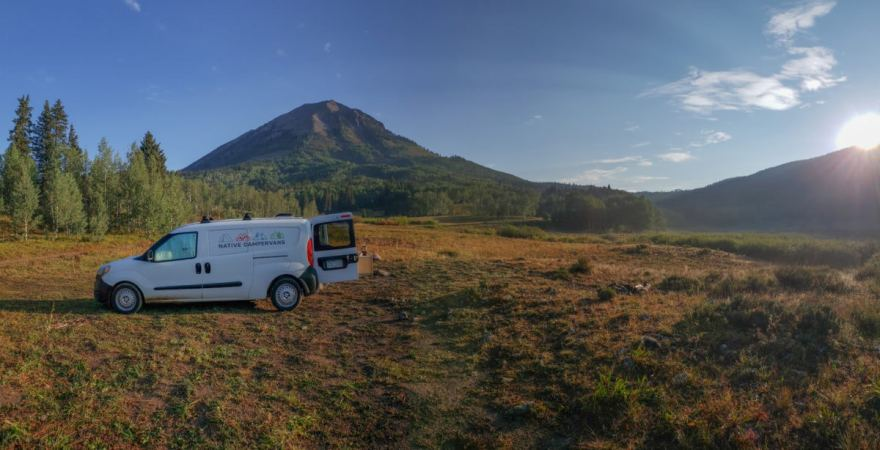 Dispersed camping crested butte