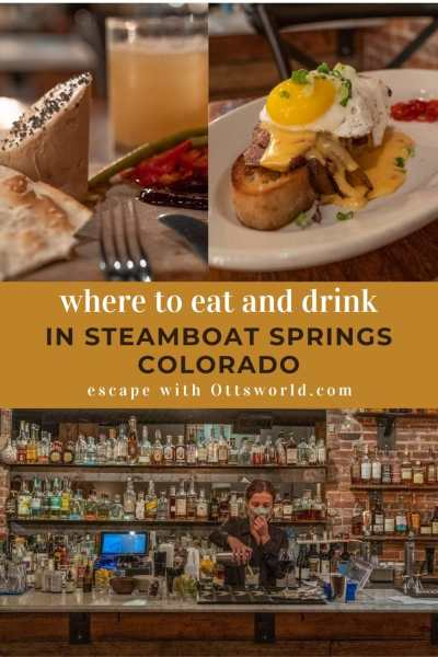 food and drink in steamboat springs colorado