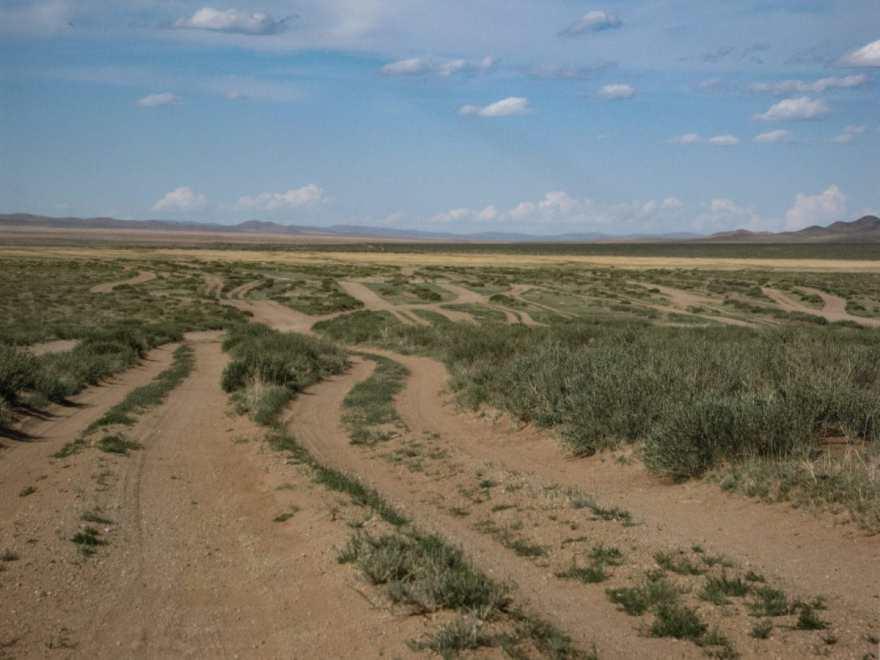 gobi desert roads
