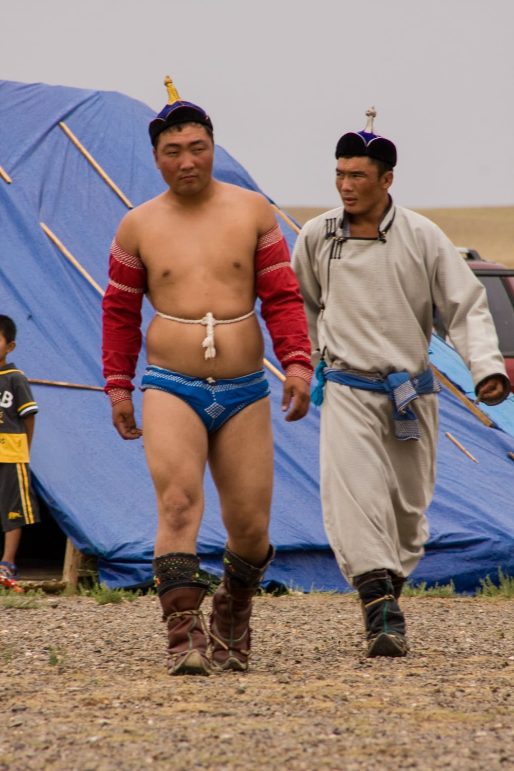 mongolia wrestling clothes