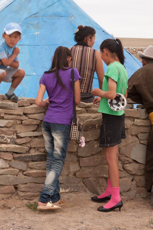 young mongolian girls