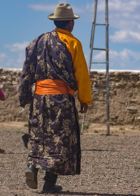 mongolian robes
