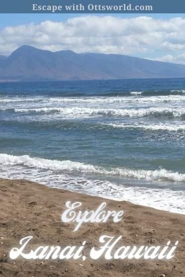beach shoreline Lanai Hawaii