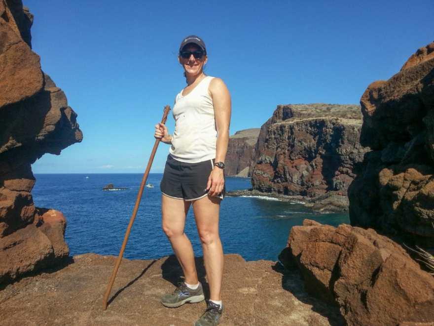 Kaunolu Trail hiking lanai
