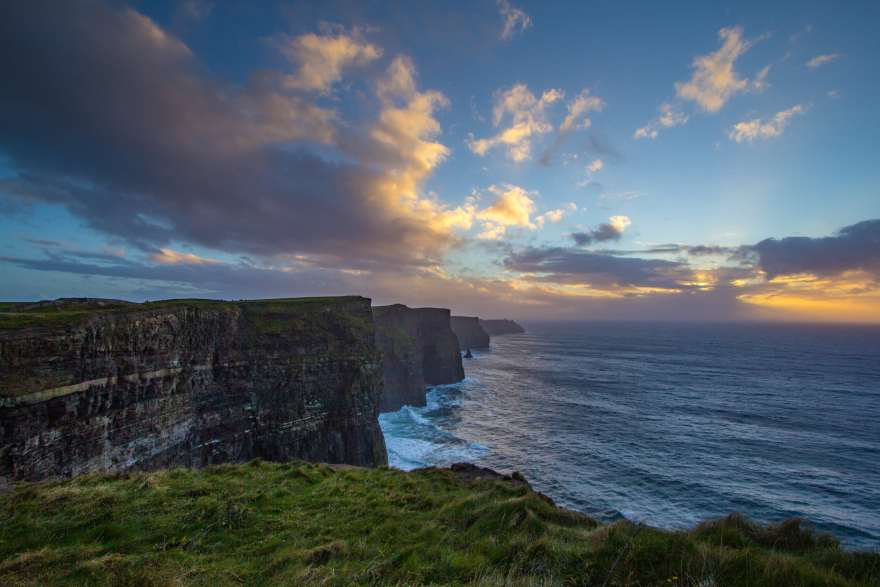 Ireland landscapes cliffs of moher