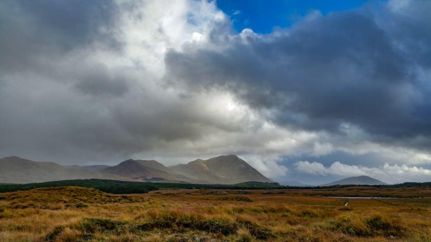 Ireland cloudscape