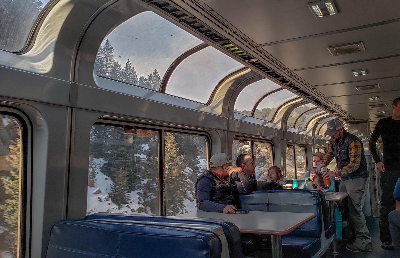 winter park ski train