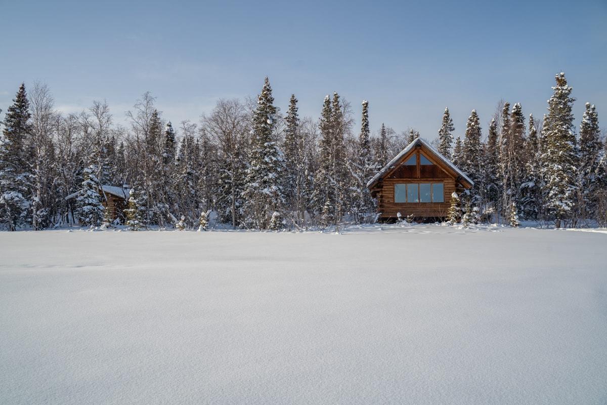 slate lake cabin alaska