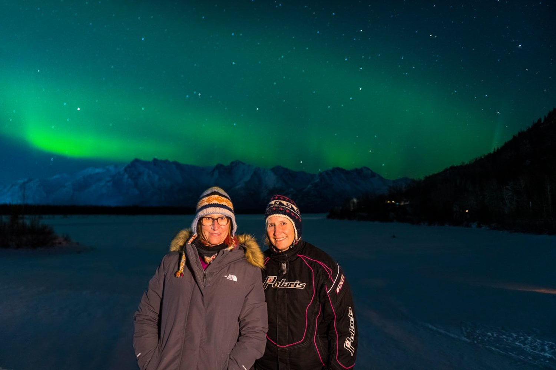 Alaska photo treks northern lights