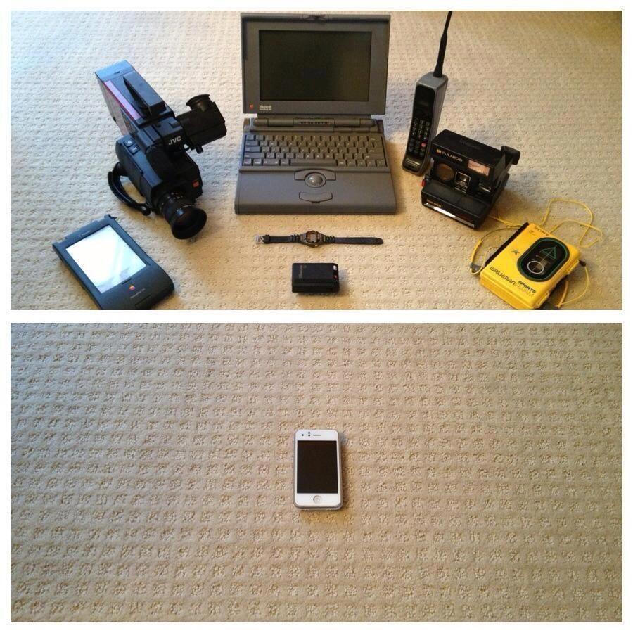 iphone-vs-eski-araclar