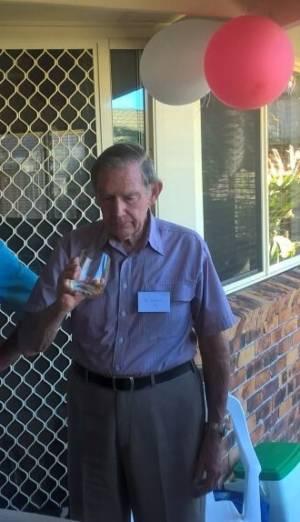 John Toland Aged 90