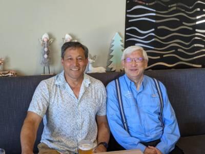 Northern Beaches Christmas Group 2020-Dean and Ernie