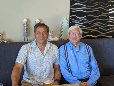 Northern Beaches Christmas Group 2020-Dean and Ernie