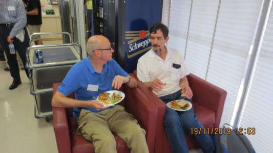 Perth AGM and Luncheon Nov 2019 Andrew & Joe