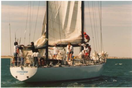 SOYC-021 Fernande arrives in Adelaide
