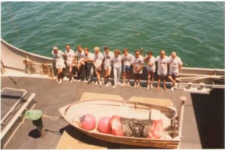 SOYC-024 Merindah Pearl Hobart to Adelaide Crew