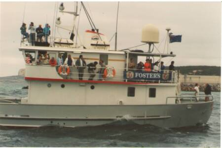 SOYC-051 Merindah Pearl- readies for the start of Esperence to Perth leg