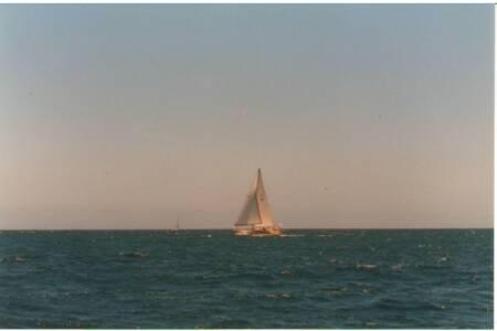 SOYC-059 We meet Destiny off Rottnest Is 25-1-1987, Last one in