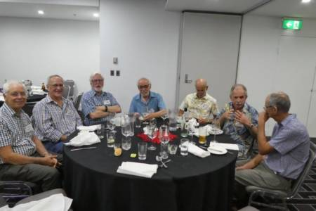 Sydney Reunion Nov 2019 Kevin George Robin Geoff Jim Ben Phil
