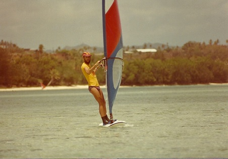 Jim Hulme Wind Surfing