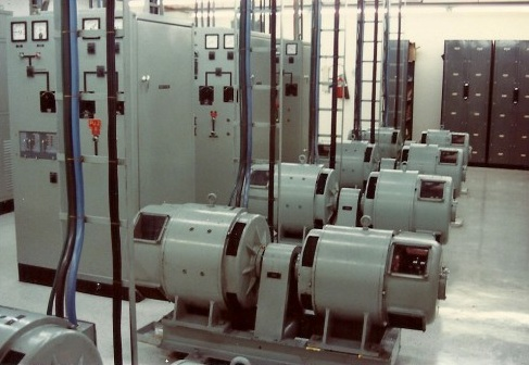 Motor Generator Room