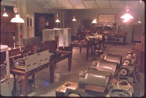 03 FI Cable equipment room 1963