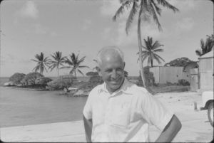 Percy Roberts District Commissioner G&E Island Colony 1960s