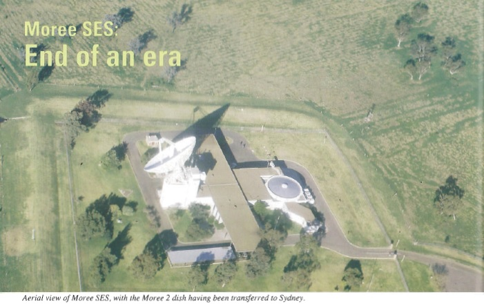Aerial View of Moree 1988