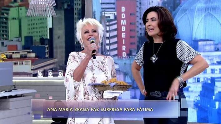 """Ana Maria Braga participou do """"Encontro"""" (Foto: Reprodução)"""